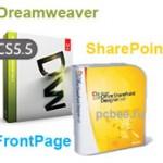 Программа для создания сайта. FrontPage, SharePoint или Dreamweaver?