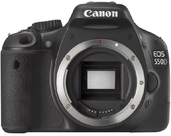 Canon 550D без объектива - вариант BODY