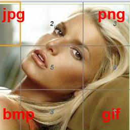 Как изменить формат изображения