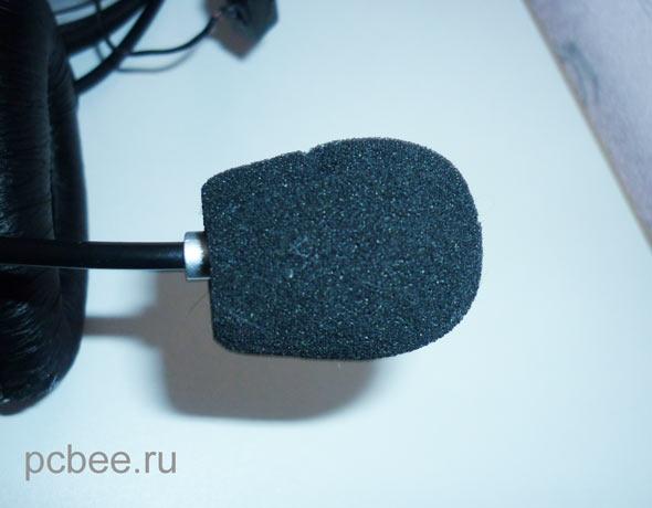 Поролоновая ветрозащита  микрофона