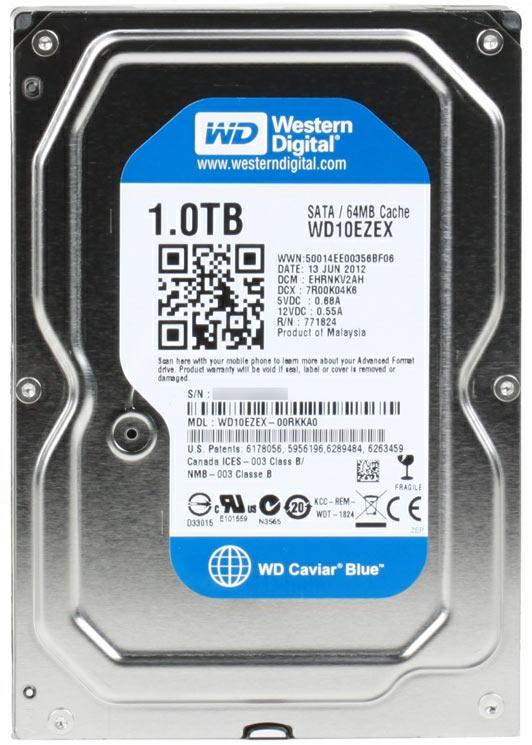 Жесткий диск Western Digital wd10ezex отзывы