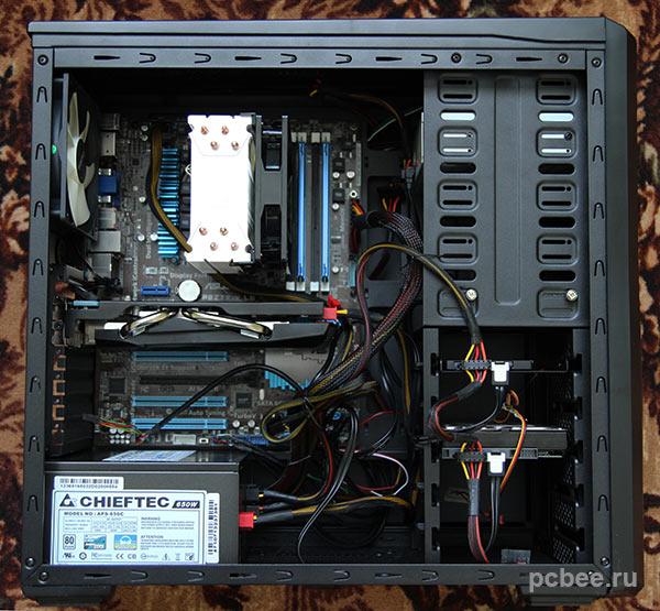 Системный блок в сборе компьютер 2013