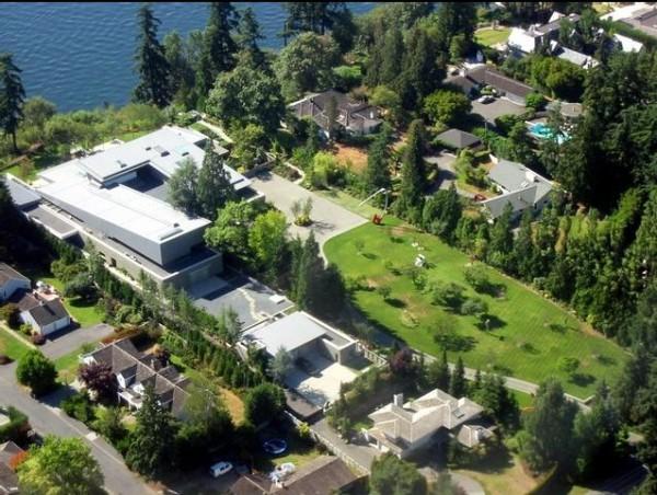 Умный дом Билла Гейтса фото