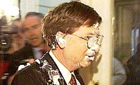 Билл Гейтс в торте