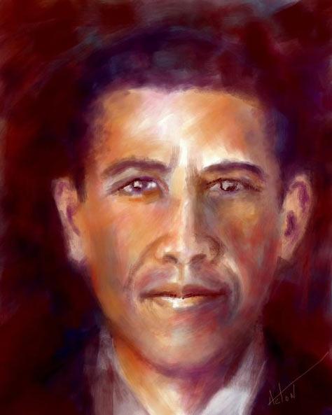 Портрет выполнен при помощи программы TwistedBrush Pro Studio 19