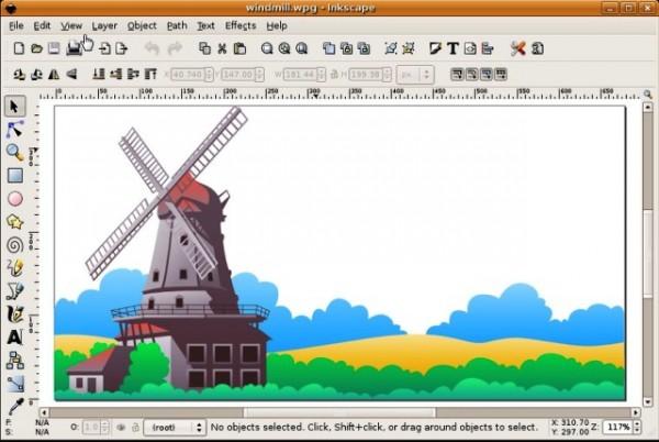 Программа для рисования на компьютере Inkscape