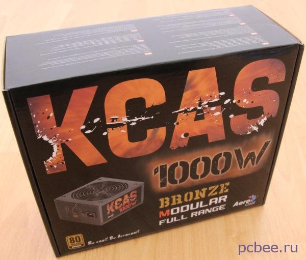Блок питания Aerocool kcas 1000