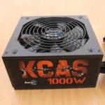 Блок питания AeroCool Retail KCAS-1000W - мощный, но не для нежных ушей