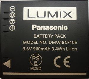 Аккумулятор для фотоаппарата Panasonic