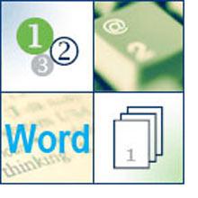 Нумерация с третьей страницы в Word