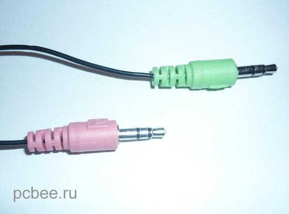 Подключение стандартное для многих бюджетных наушников mini jack 3.5 mm.