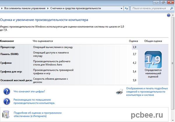 Нетбук ASUS EE PC 1015BX производителность
