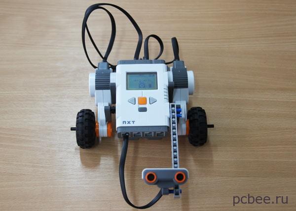 Простейший вариант робота Лего