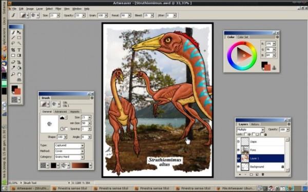 Программа для рисования на компьютере Artweaver
