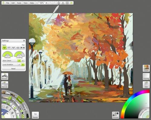 Программа для рисования на компьютере  ArtRage