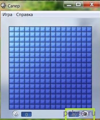 """Игровое поле """"Сапера"""""""