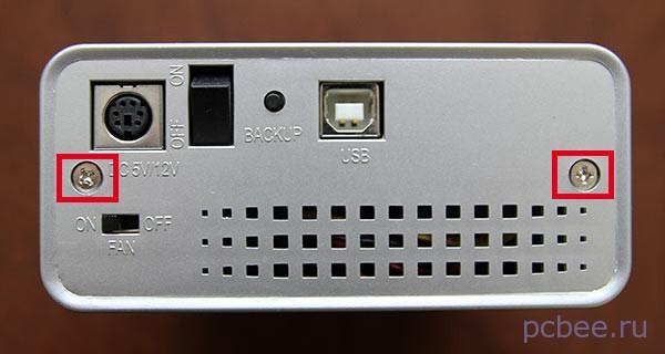 Как установить hdd в бокс USB