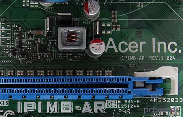 Марикоровка на материнской плате Acer IPIMB-AR