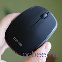 Бесшумная мышь DNS SLW-008BQ