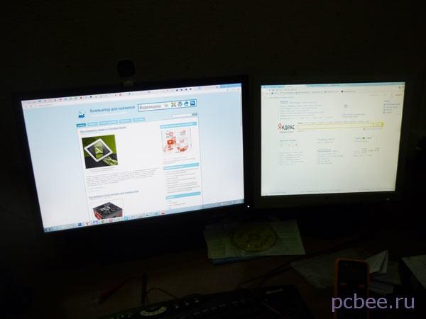 """""""Сладкая парочка"""" - мониторыASUS PA248QJ (слева) и LG Flatron L1917S"""